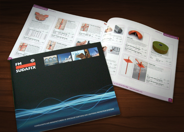 Electrical catalogue design, catalogue design nottingham, catalogue printers nottingham