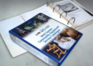 NHS Ringbound Catalogue Design