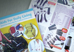 Nottingham Rehab Supplies catalogue design