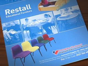 School furniture catalogue design
