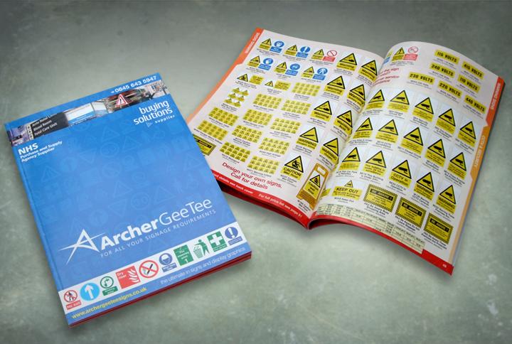 retail catalogue design, sign catalogue design, nottingham catalogue designers, catalogue design nottingham, catalogue printers