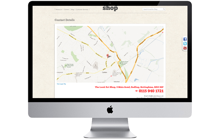 bespoke magento ecommerce website design Nottingham, Nottinghamshire web design