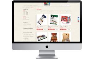 Art shop ecommerce magnto website design