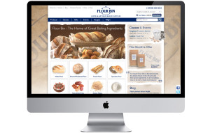 Food retail e-commerce website design and build