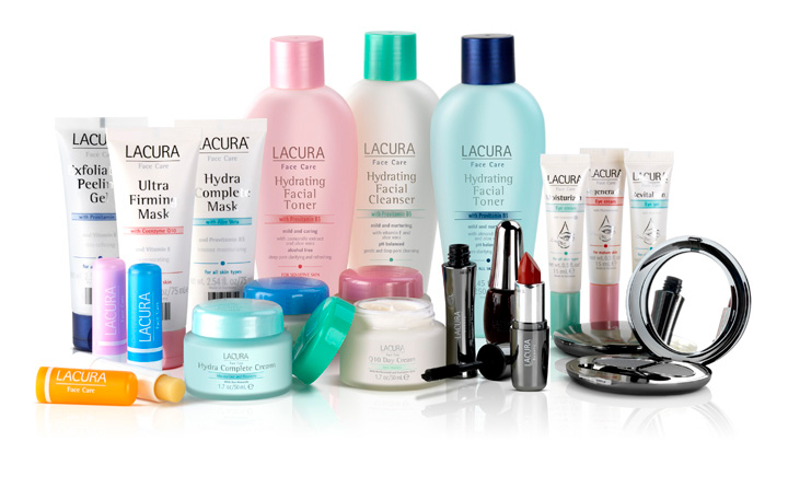 Lacura beauty product photography