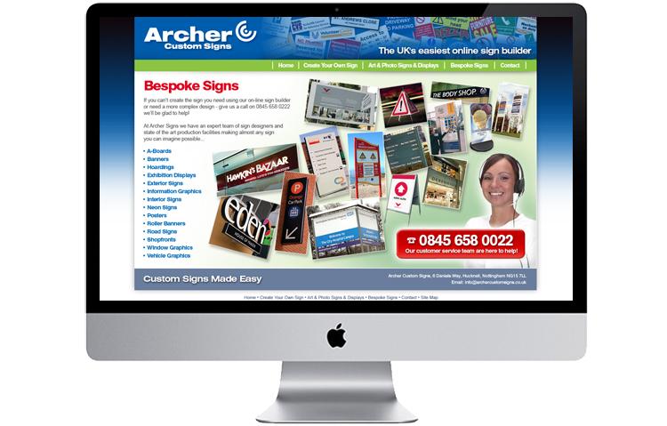 Website designers Nottingham, Nottinghamshire designers, Peak District Website Design