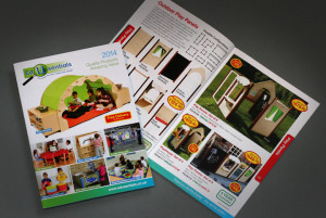School and nursery eduction catalogue design