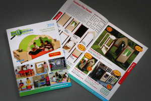Edusentials retail catalogue design and production