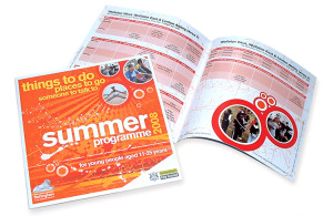 leaflet design nottingham, leaflet design company nottingham, graphic design peak district