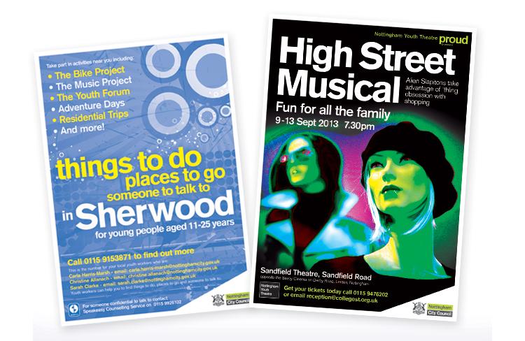 Music poster design, poster design nottingham