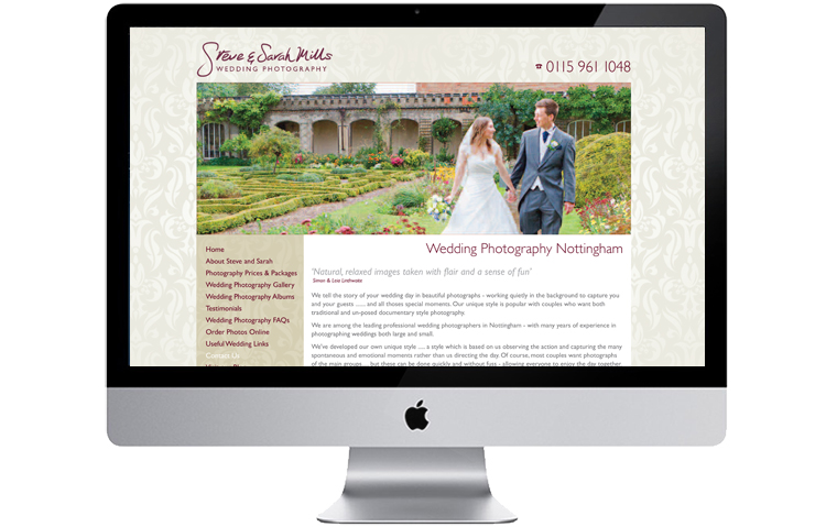 Website design Nottingham, photographers website design, web design hope valley, website designers hathersage, web site design baslow