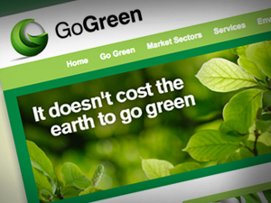 Website Design Go Green