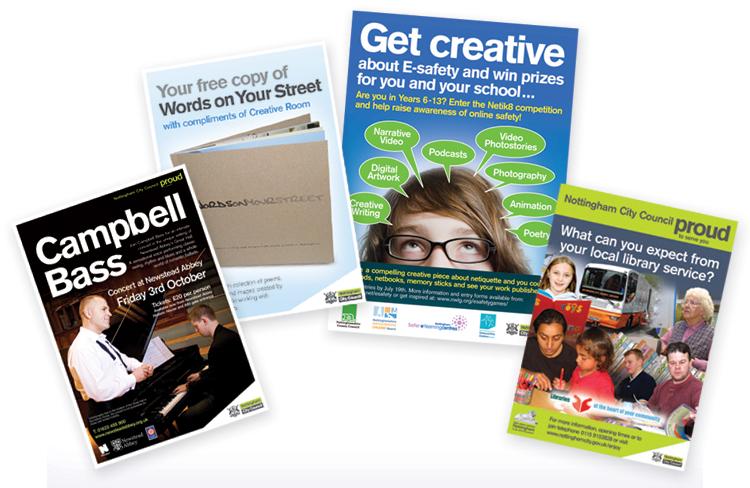 leaflet design nottingham, leaflet designers, flyer design nottingham