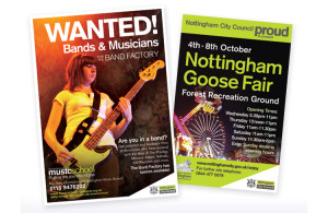 Poster design nottingham, poster designers, nottingham poster print