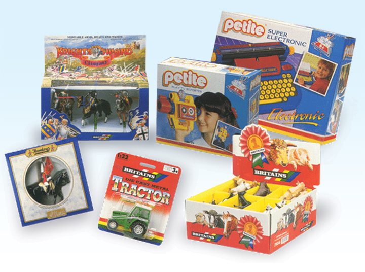 toy pack designers nottingham, britains petite pack design, retail packaging company