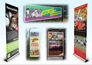 Exhibition design for schools, schools display designers, college display printers, website design hathersage, Peak District graphic designers