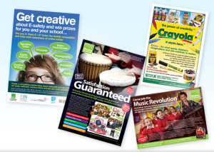Advertising design, advert design for schools, college advert design company, graphic design company, peak district website designers