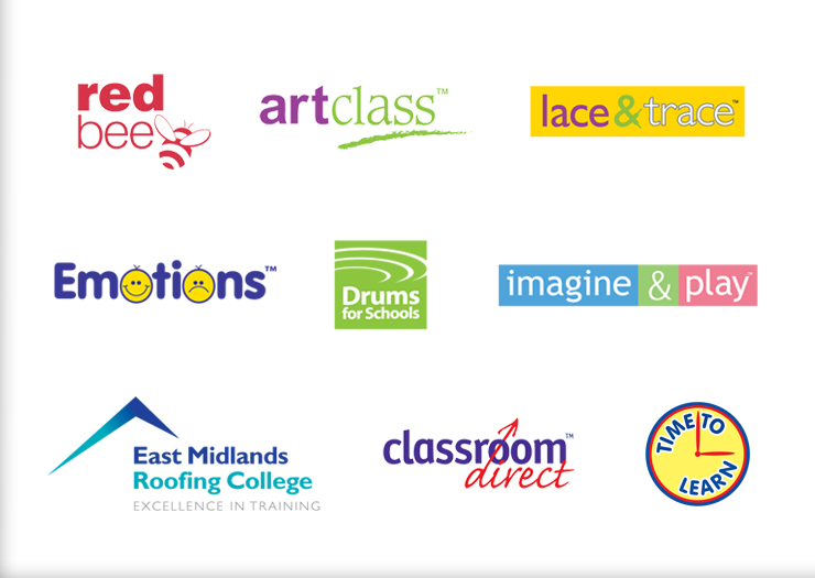 Logo design for schools, education logo design company, logo design peak district