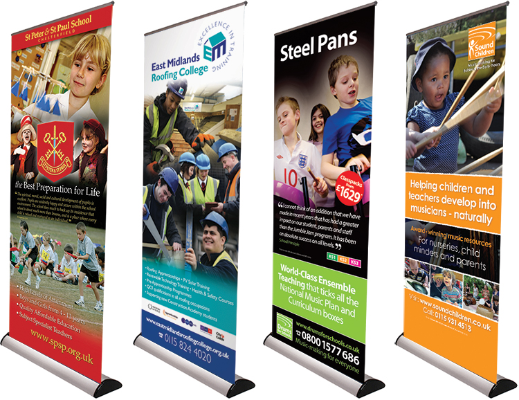 pop-up design, roller banner designers, display prints, large format printers, digital printers, peak district, roller banner print, pop up design