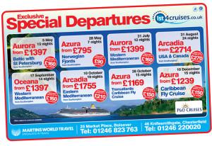 magazine design company chesterfield, cruise advert designers, graphic design sheffield, ad designers