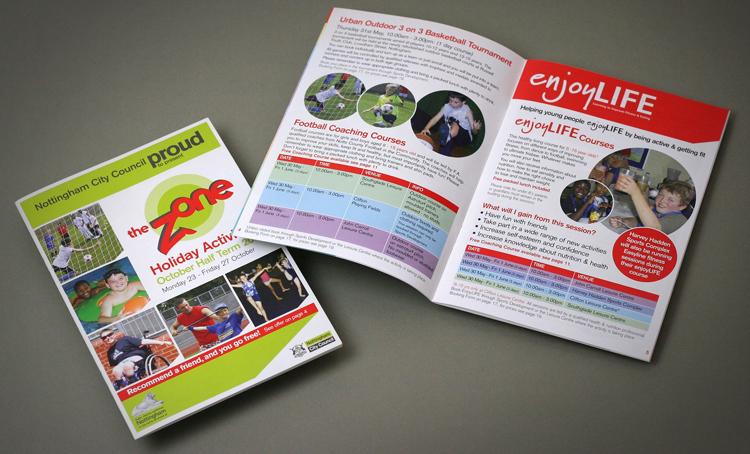 holiday brochure design, brochure design experts, brochure design chesterfield