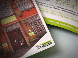 Brochure Design Nottingham City Council