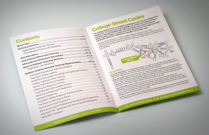 brochure design Nottingham city council, brochure designers matlock, brochure printers buxton