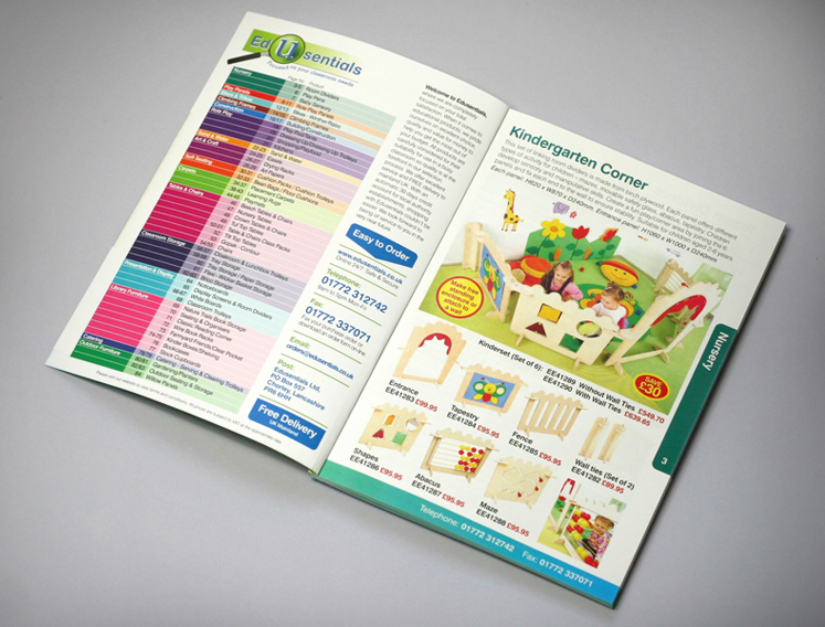 school catalogue design, catalogue designers sheffield, catalogue print for schools suppliers