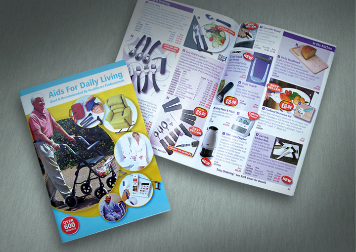 84 page, A5, NRS Aids for Daily Living Catalogue
