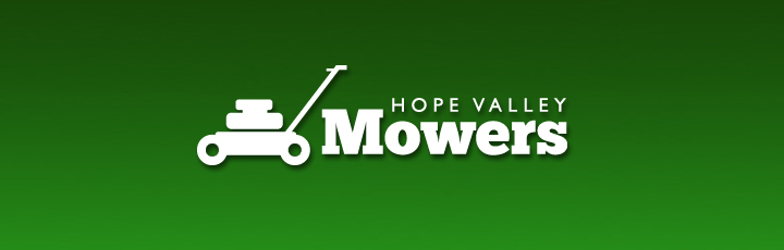 A logo we created for a local mower sales and repairs business, based in Bamford