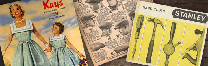 Catalogue design through the ages: 1920s – 1960s