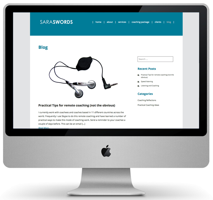 responsive website design, wordpress website design, peak district design company