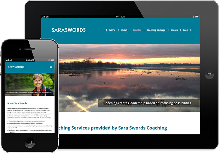 wordpress website design, peak district web designers