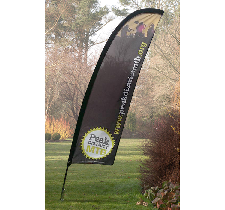 event design, event banners, banner print, event flags, signage peak district, peak district graphic designers
