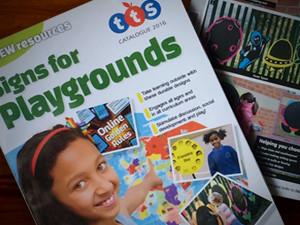 playground catalogue design, catalogue print