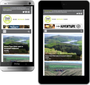 responsive website design, website design peak district, web designers hathersage, graphic design bakewell