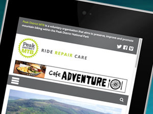 website design peak district mtb
