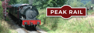 Peak District leaflet design, logo desing peak district, steam railway timetable, visitor guide design