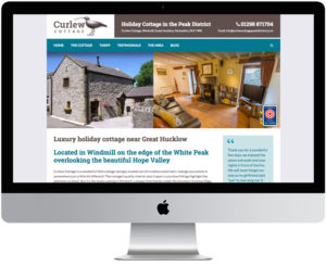 peak district website designers, web design peak district, holiday cottage websites