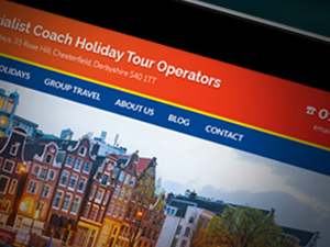 Holiday Company Website Design