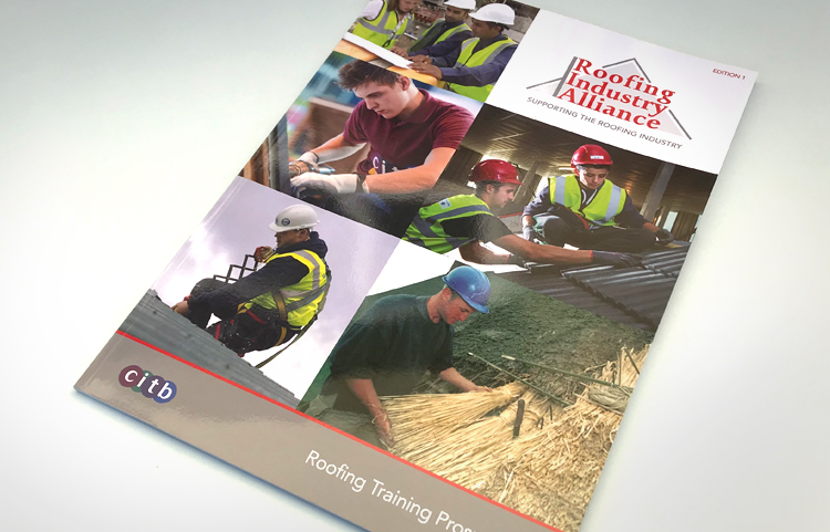 Roofing prospectus design and print
