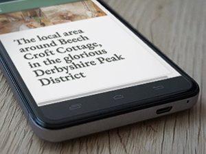 Web Design Peak District