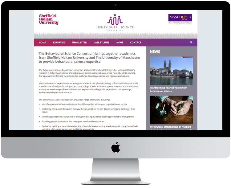 university website design sheffield, manchester uni web design, peak district web designer, buxton web design