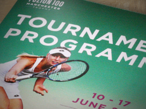 Tennis Tournament Programme