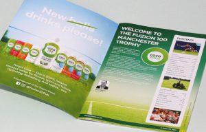 sport brochure design