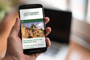 peak district pub website designers