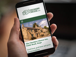 Peak District pub web design