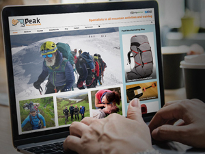 Ecommerce website peak district