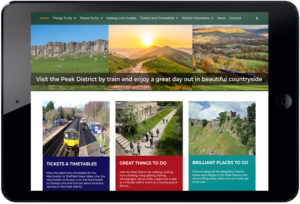 website design peak district